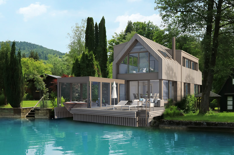 Neubauprojekt Villa / Sattnitz/Wörthersee